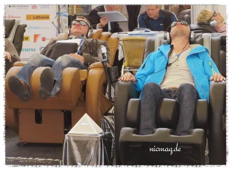 Rätselhafte Sitzgelegenheiten, FIBO Köln
