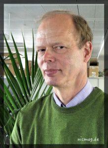 Journalist, Autor und Cartoonist: Dr. Kai Riedemann