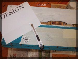 Buchstaben ausschneiden … mühsam
