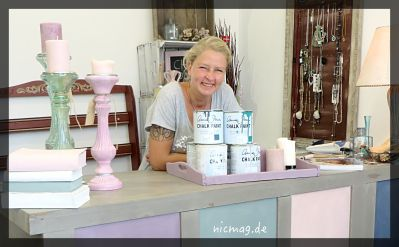 Sandra Schultze in ihrem Laden
