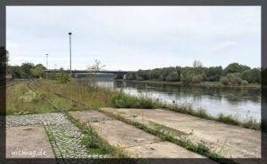 Die Elbe in unscheinbar