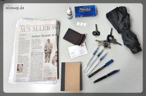 Jans Taschen-Inhalt
