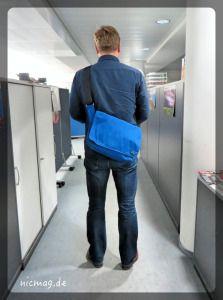 Jan und sein Messenger Bag