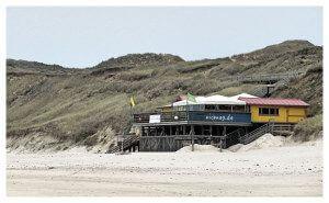 Strandcafe auf Sylt