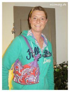 Sandra und ihre Tasche von billabong