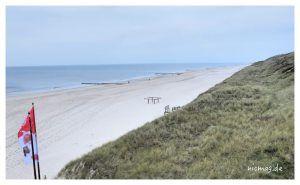 Der Strand bei Wenningstedt auf Sylt
