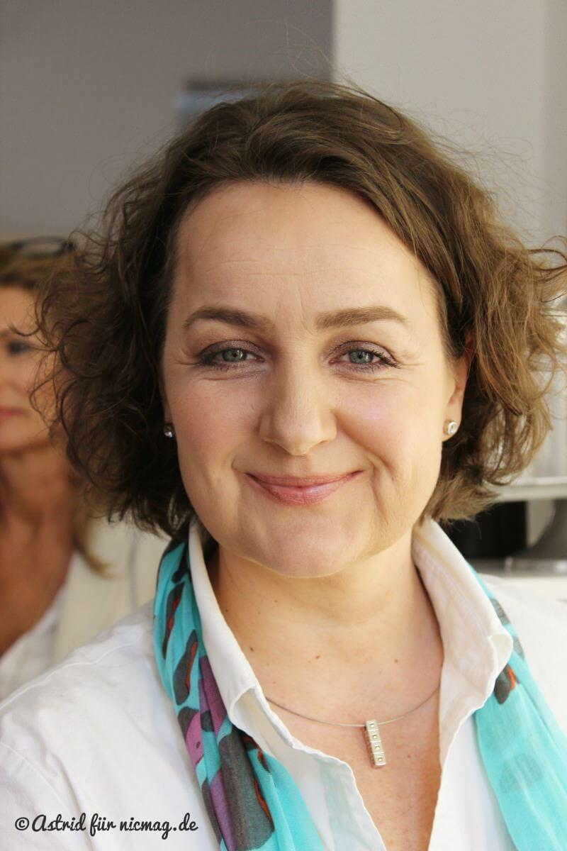 nic mit dem Augen-Make-Up von Serena Goldenbaum ©Astrid