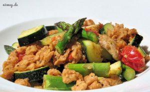 Soja-Gemüse-Pfanne mit GEFRO-Brühe gewürzt