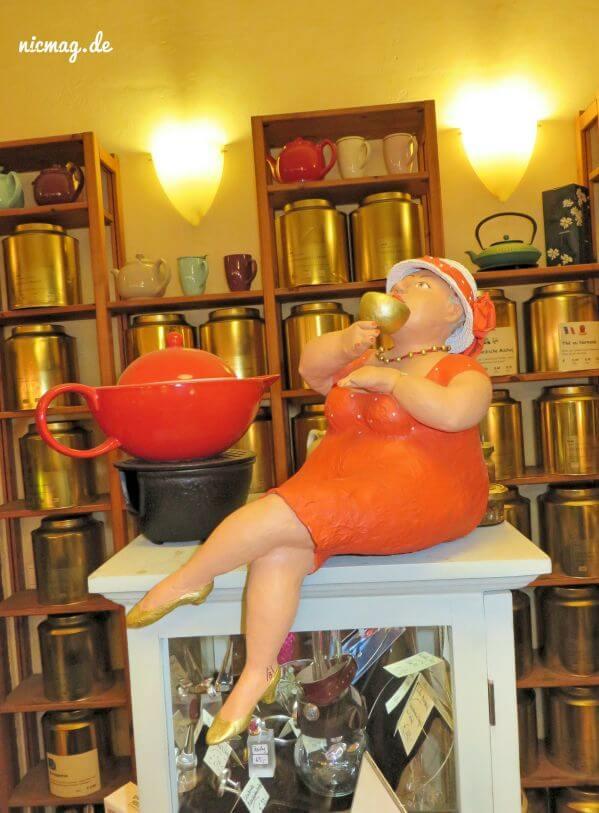 Das Eimsbüttler Teekontor Dickmadame
