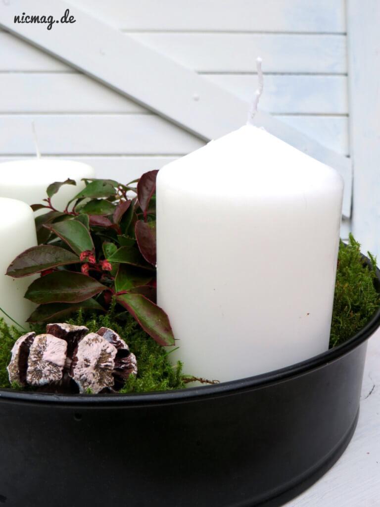 Adventskranz Kuchenform