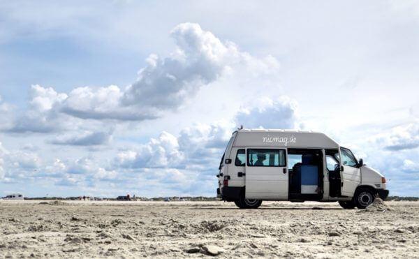 camper am Strand von Rømø