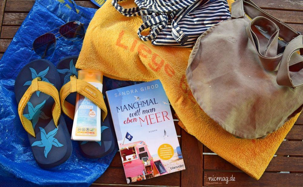 Strandtasche, der Inhalt