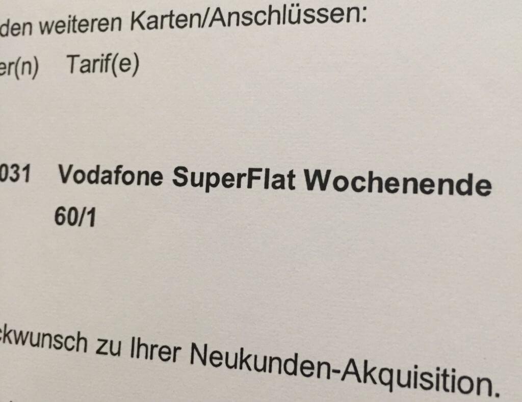 Die Super-Wochenend-Flat