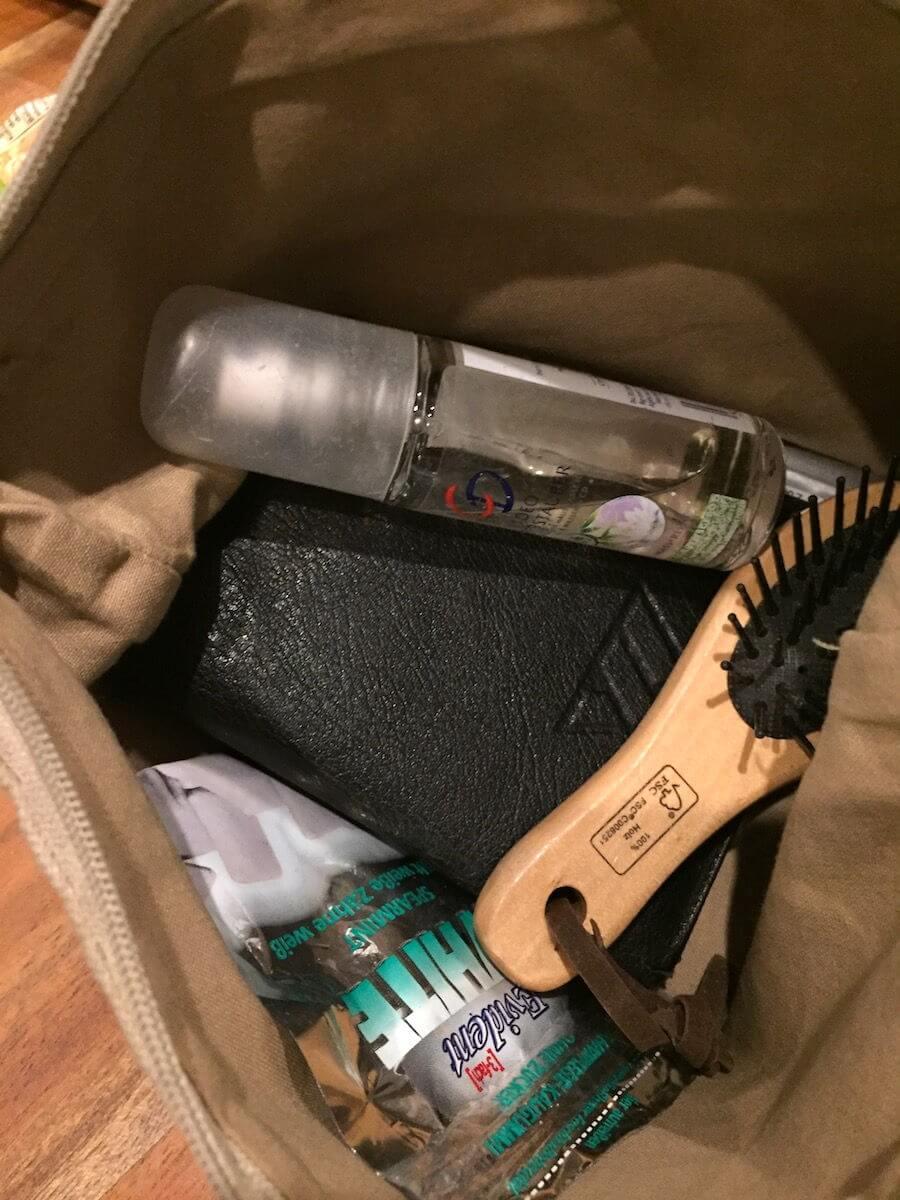 Sehr clever: Die Tasche in der Tasche