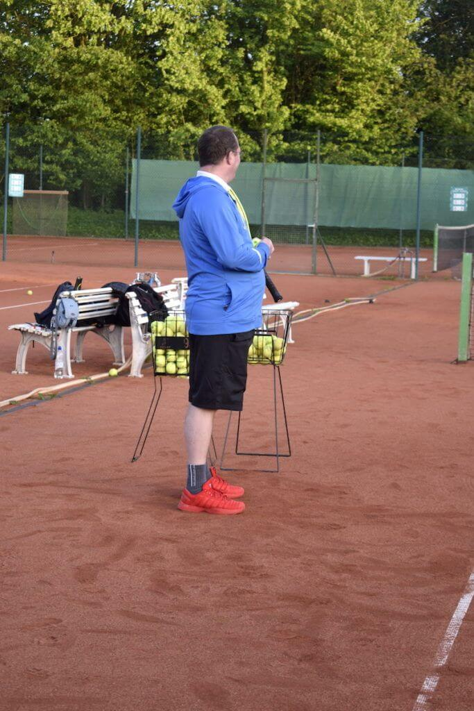 Tennis – Der Coach
