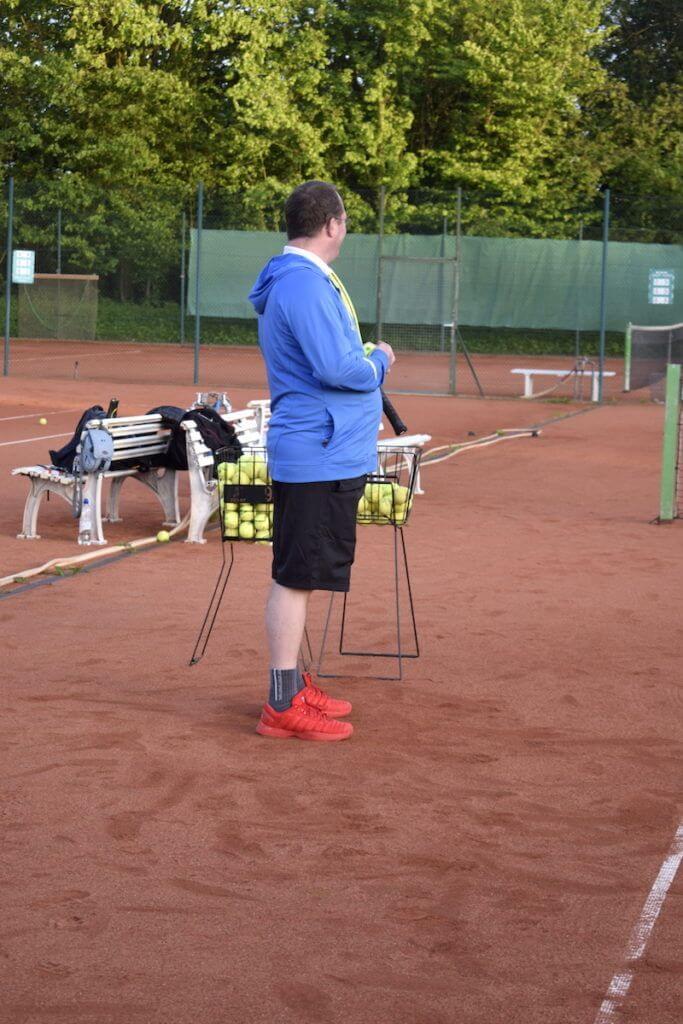 Tennis – Der Coach
