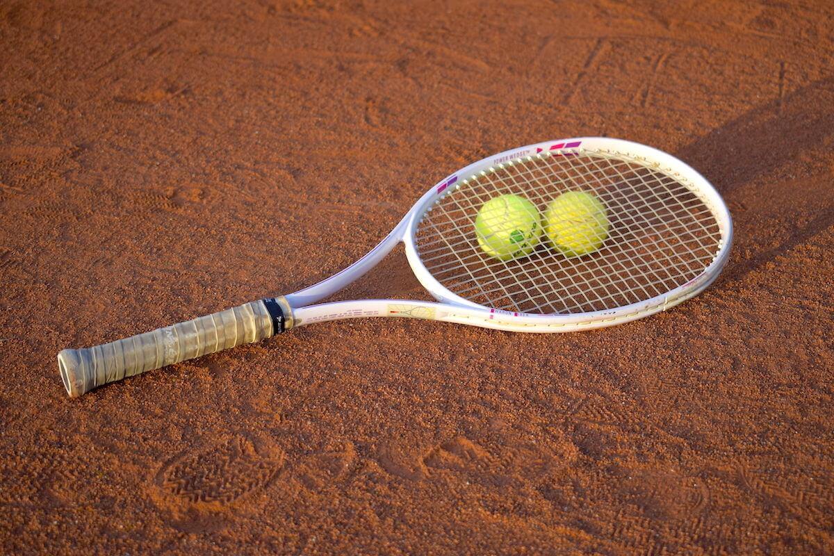 Tennis Tennisschläger Tennisbälle