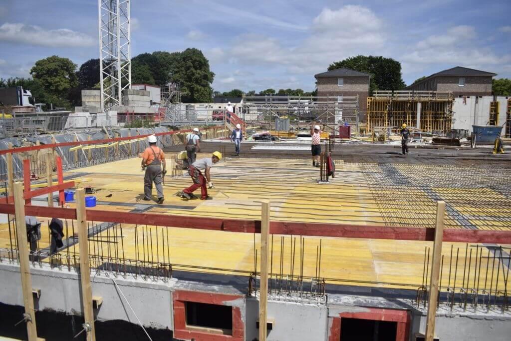 Baustelle in Ahrensburg Pomonaring