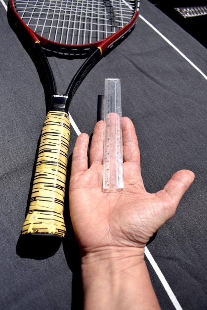 Griffgröße Tennisschläger