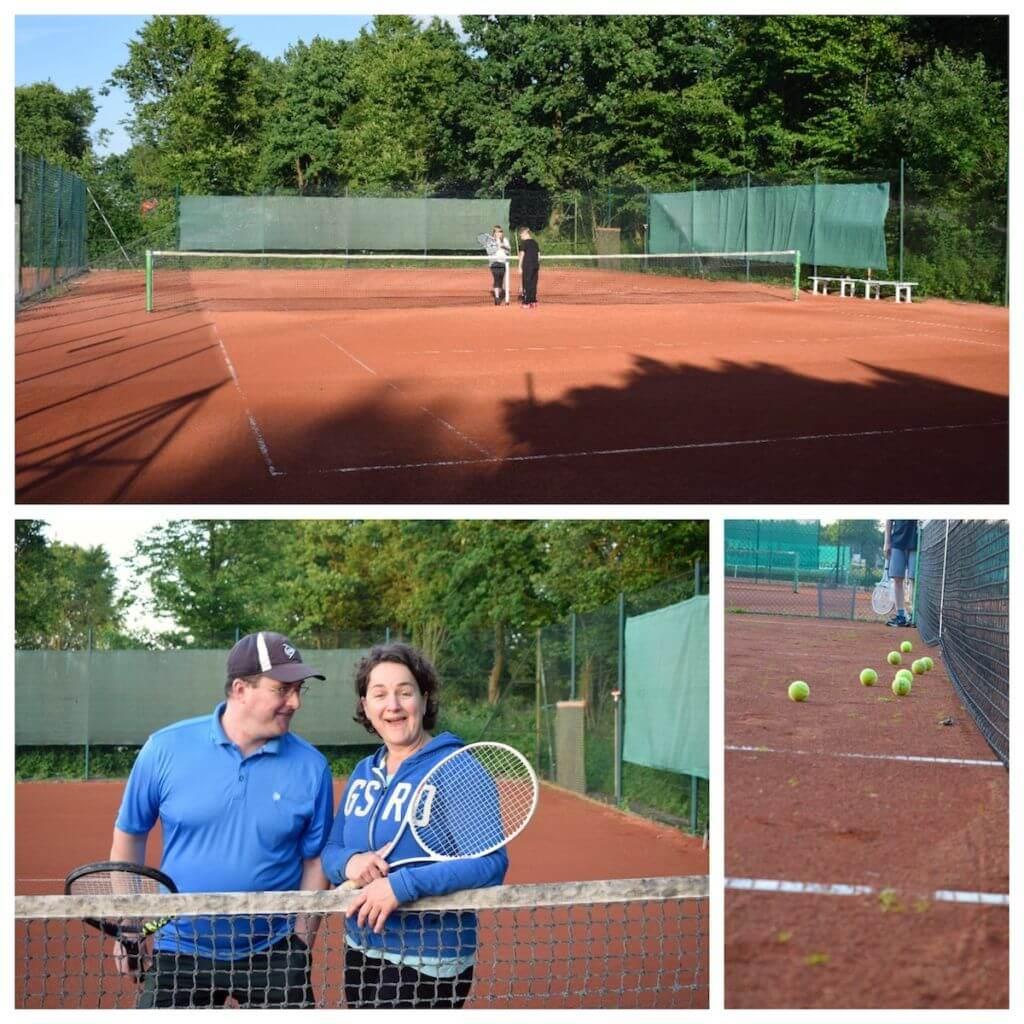Tennisplatz SSC Hagen Ahrensburg
