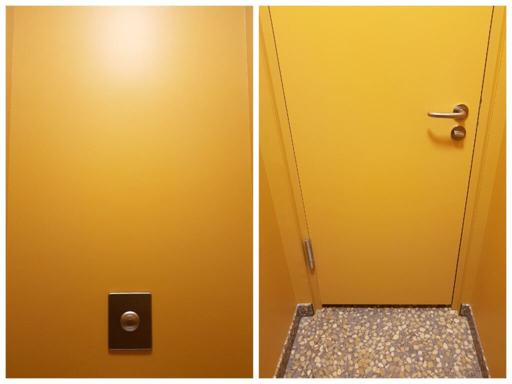 Elbphilharmonie Toiletten – Foto: Nicole Stroschein
