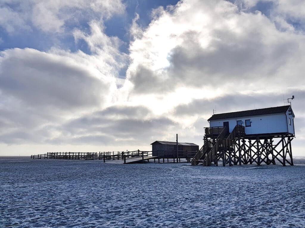 Watt und Strand in St. Peter-Ording – Foto: NIcole Stroschein