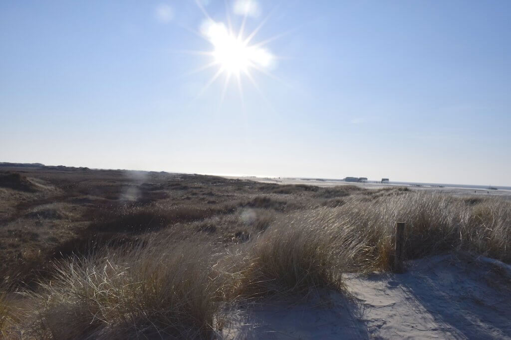 Am Strand in St. Peter-Ording – Foto: Nicole Stroschein