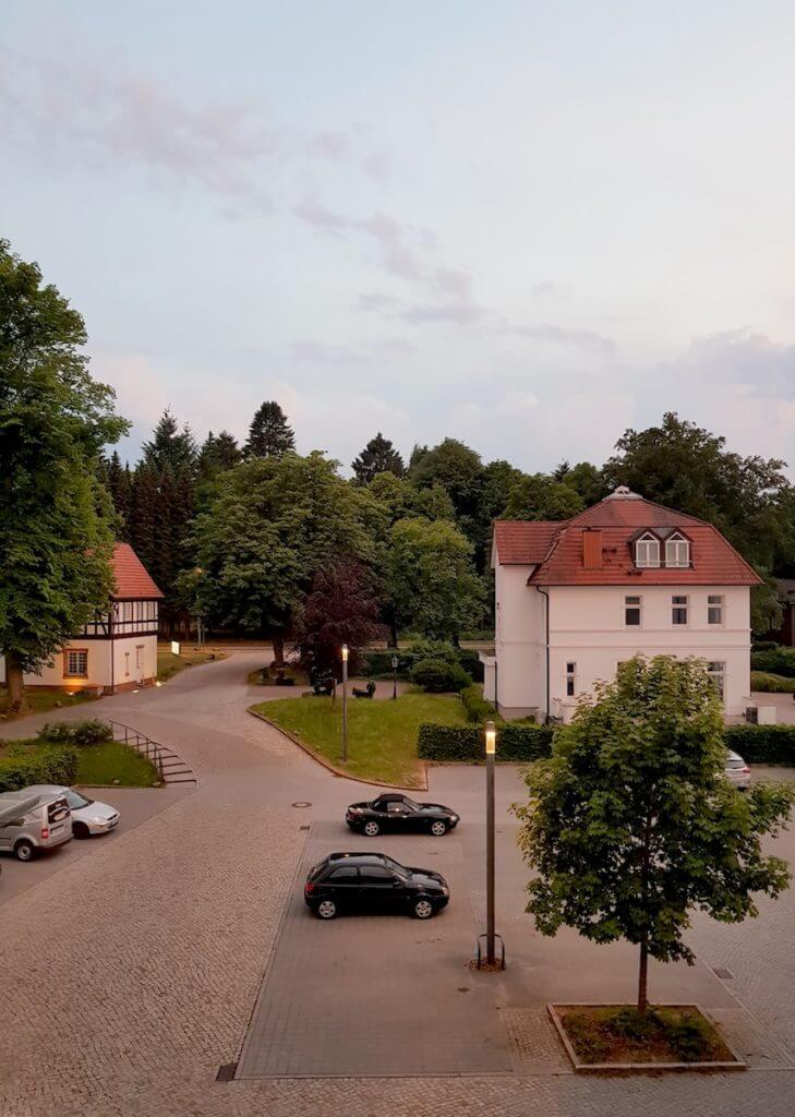 Ausblick aus dem Zimmer der Park-Klinik-Manhagen - Foto: Nicole Stroschein