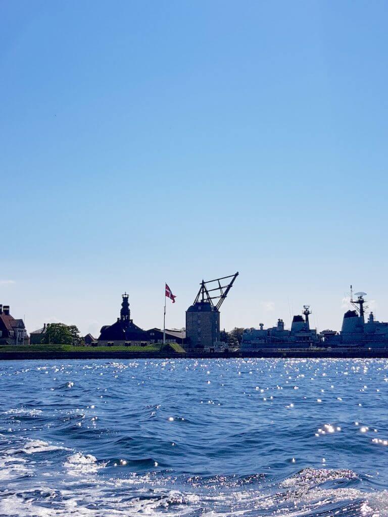 Blick auf die Befestigung von Kopenhagen – Foto: Nicole Stroschein