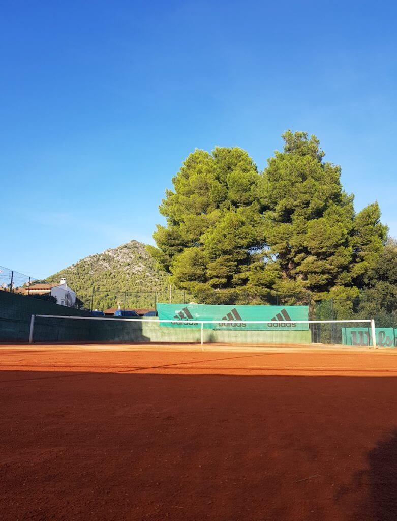 Tennis in Canyamel, Mallorca – Foto: Nicole Stroschein