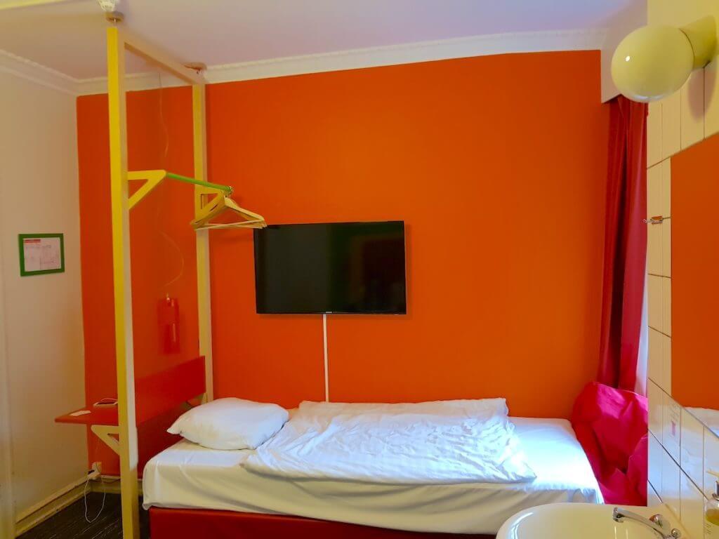 Annex Hostel, Kopenhagen. Einzelbett im Dreierzimmer – Fotos: Nicole Stroschein