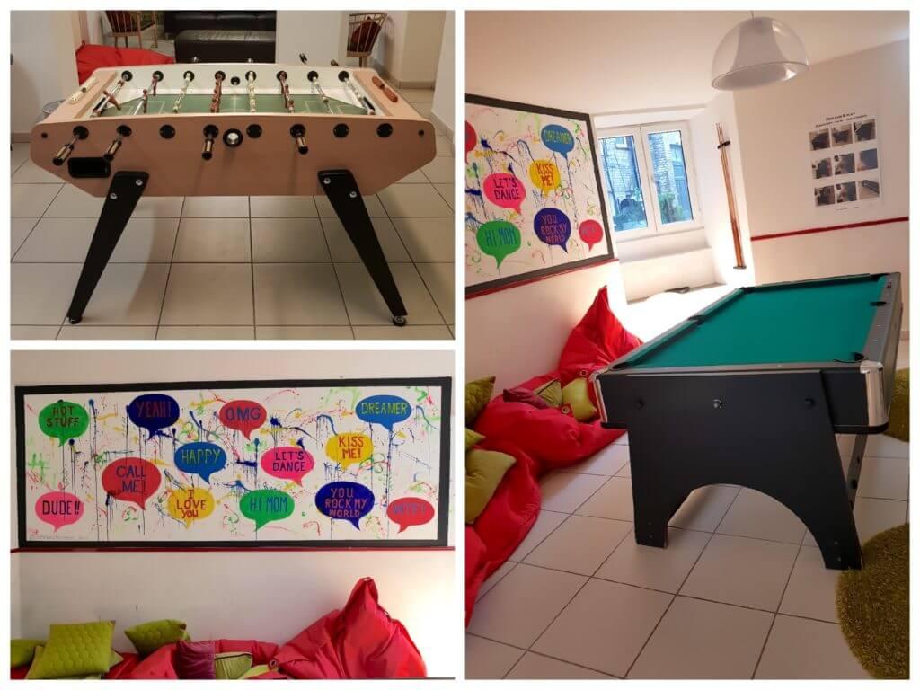 Annex Hostel, Kopenhagen – Billard und Tischkicker – Fotos: Nicole Stroschein