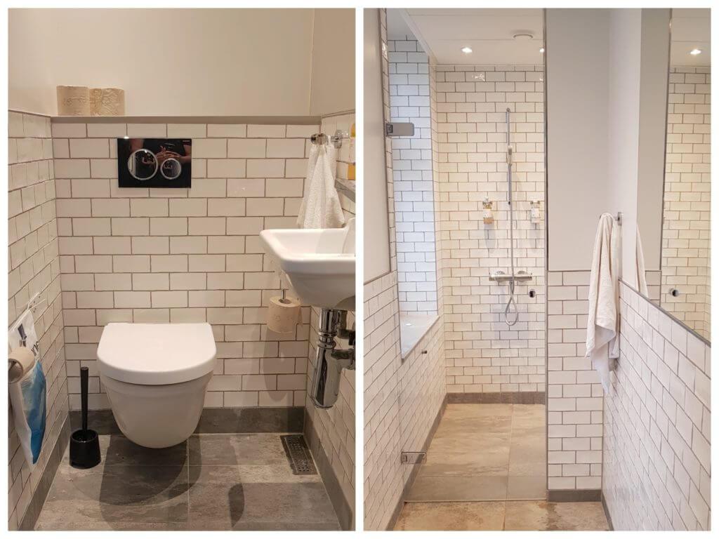 Annex Hostel, Kopenhagen – Gemeinschaftsdusche/WC – Fotos: Nicole Stroschein