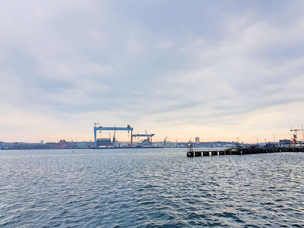 Blick über die Kieler Förde vom Lagom in Kiel –Foto: Nicole Stroschein